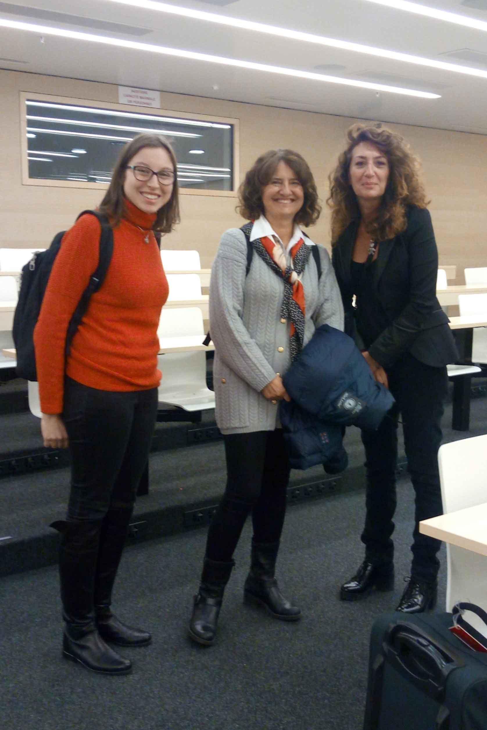 Student, Michela Matteoli and Paola Bezzi