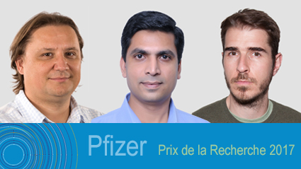 Winners of the Pfizer Prize for Research 2017