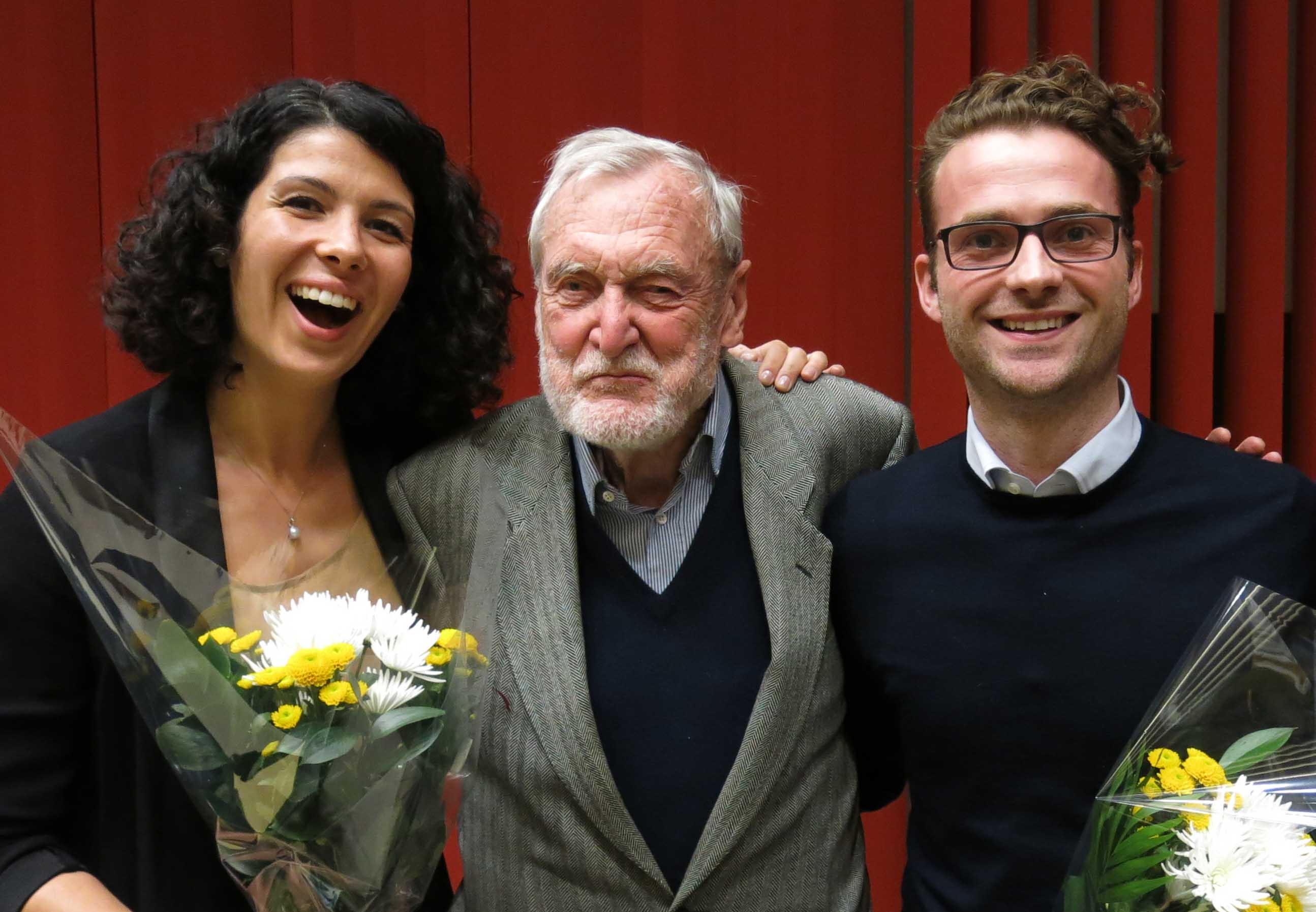 Biaggi de Blasys 2016 Award to Sebastiano Bariselli