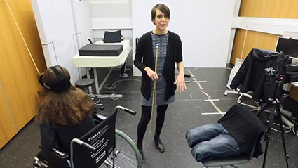 Virtual reality reduces phantom pain in paraplegics