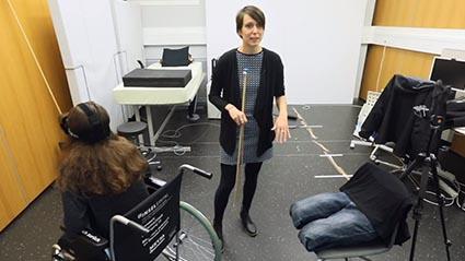 VR paraplegics