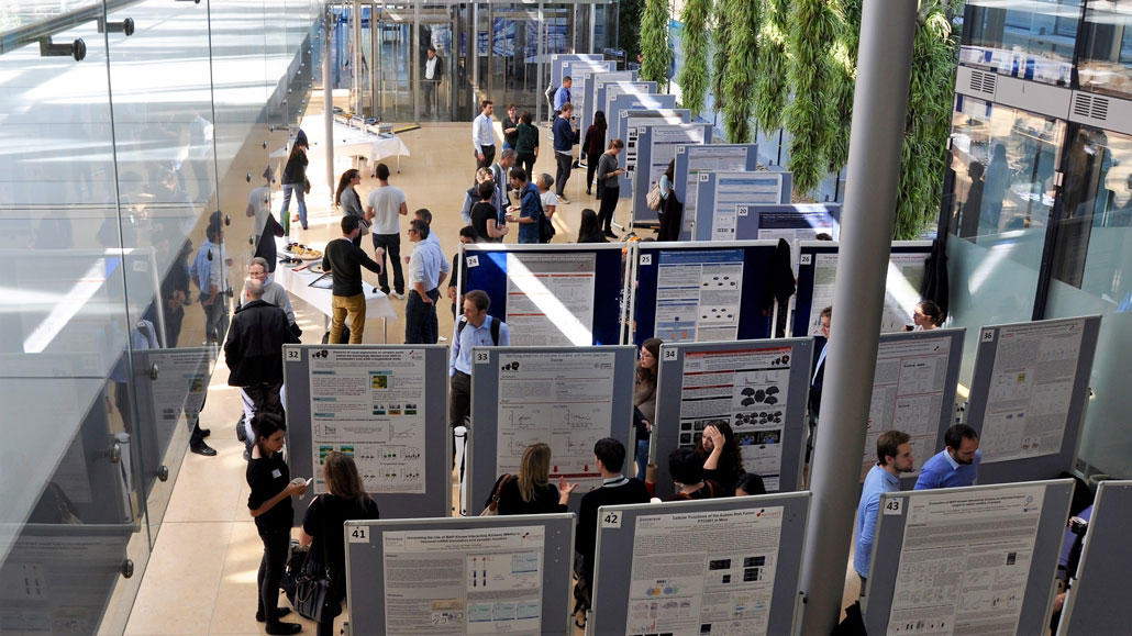 poster session at the sitevisit