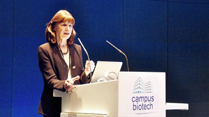 Professor Carol Tamminga During The Synapsy Conference