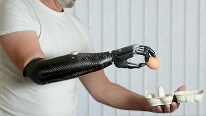 Amputees consider their prosthetic limb is an extension of their own body