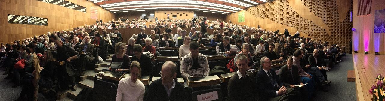 full auditorium