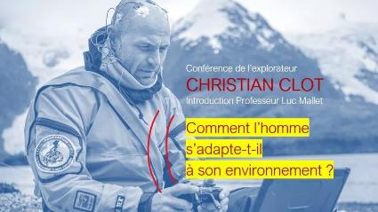 Explorer Christian Clot – Conference