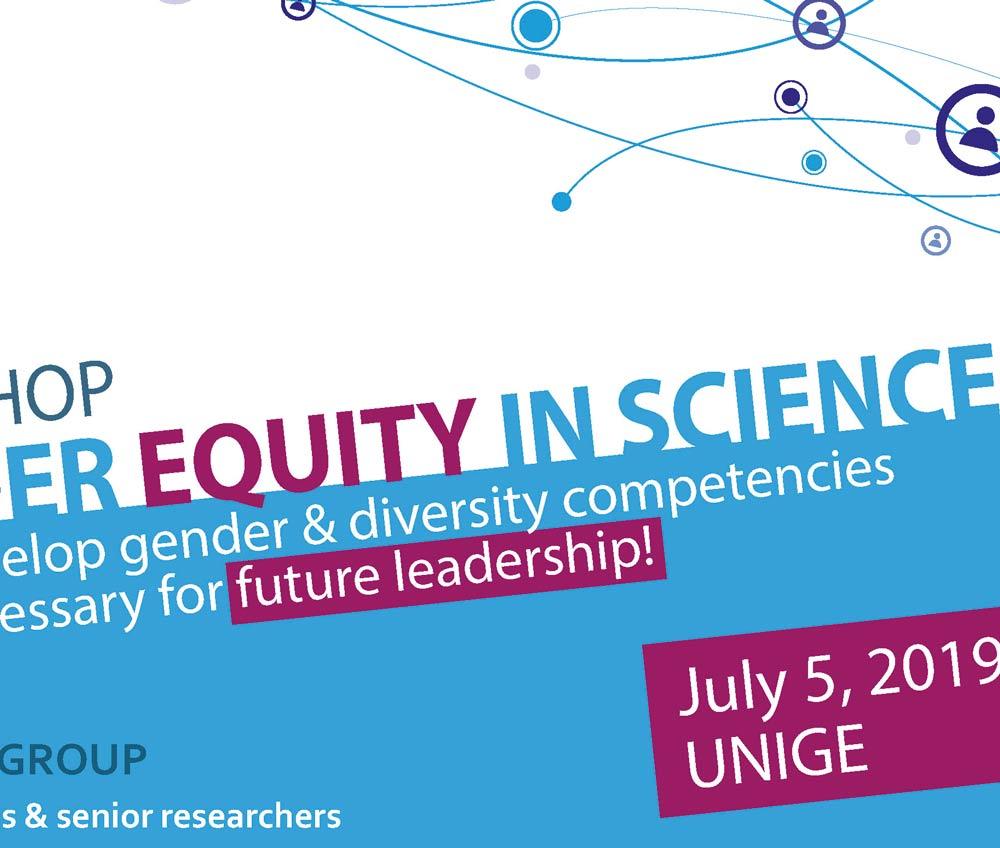 """Workshop """"Gender Equity in Science"""""""