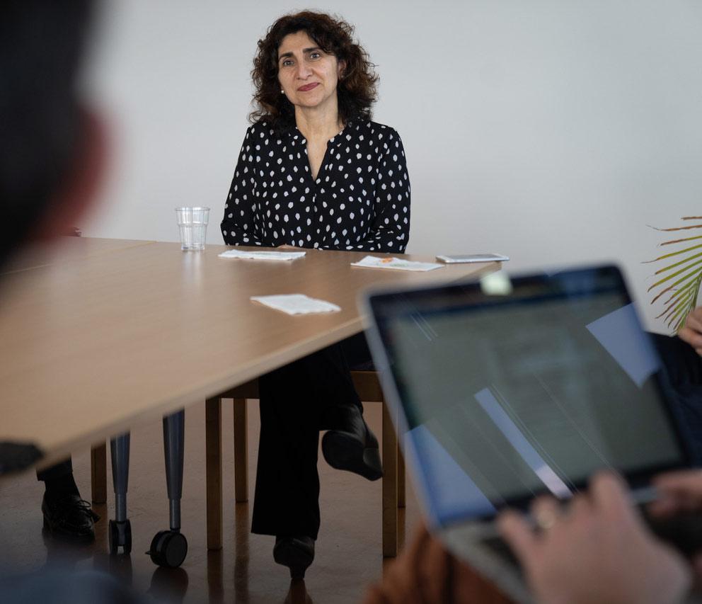 Empowerment: Three Questions for Bita Moghaddam