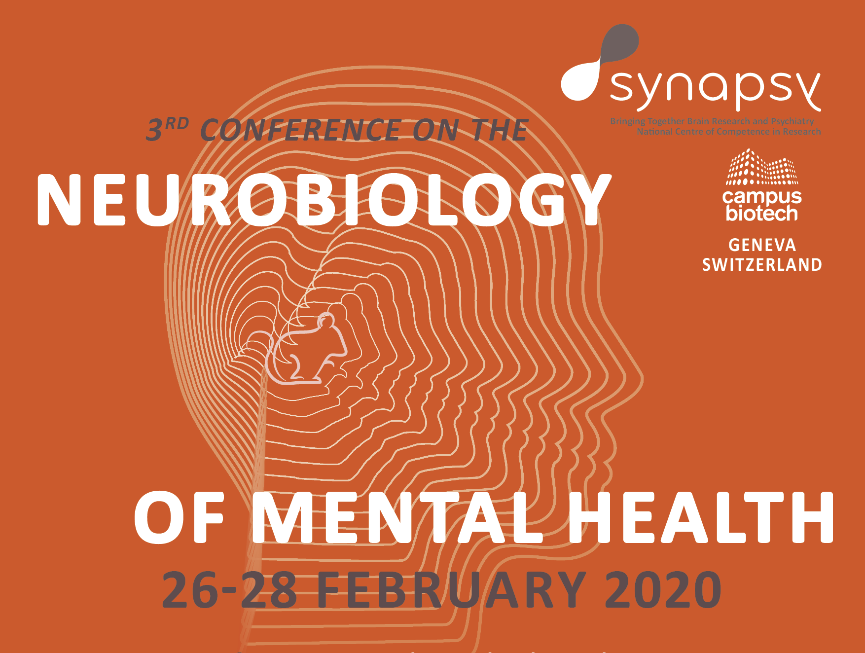 Invitation: 3rd Synapsy Conference on the Neurobiology of Mental Health