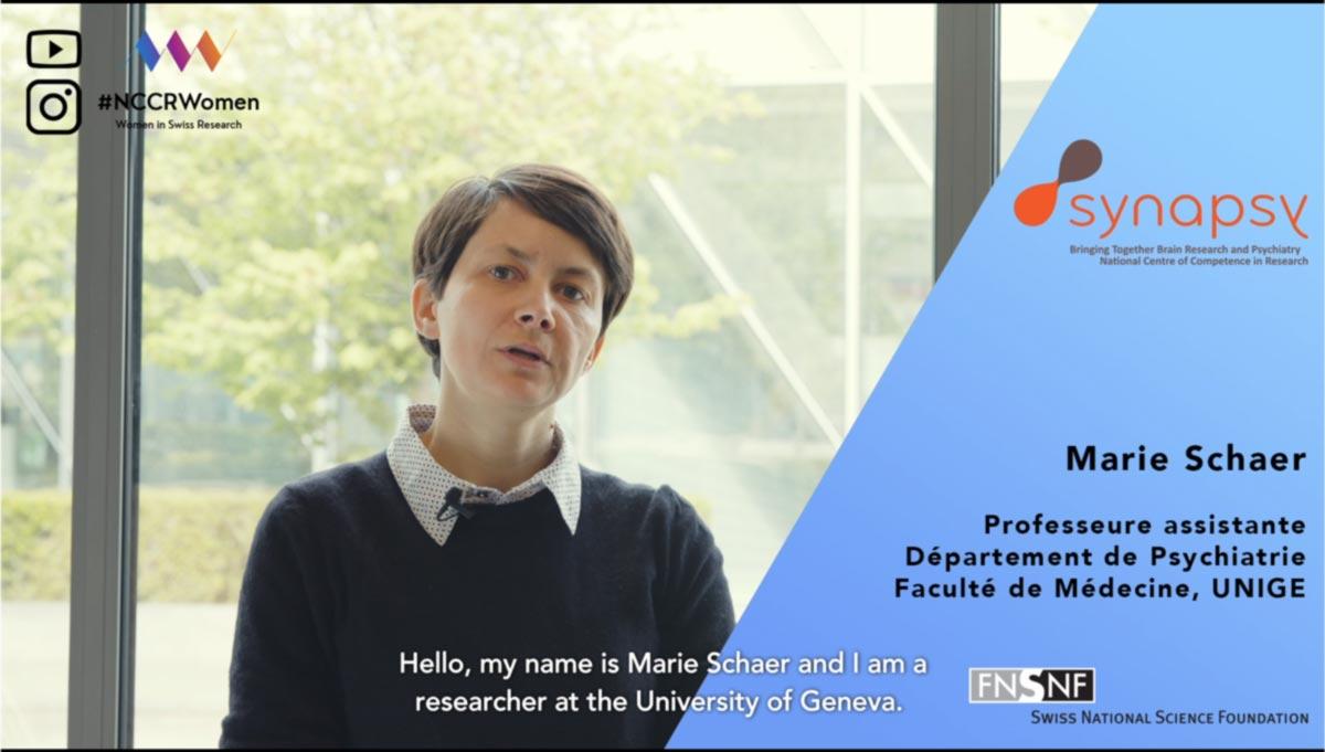 #NCCRWomen – Marie Schaer
