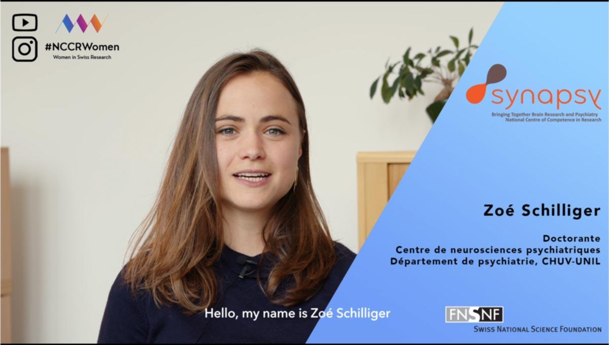#NCCRWomen – Zoé Schilliger