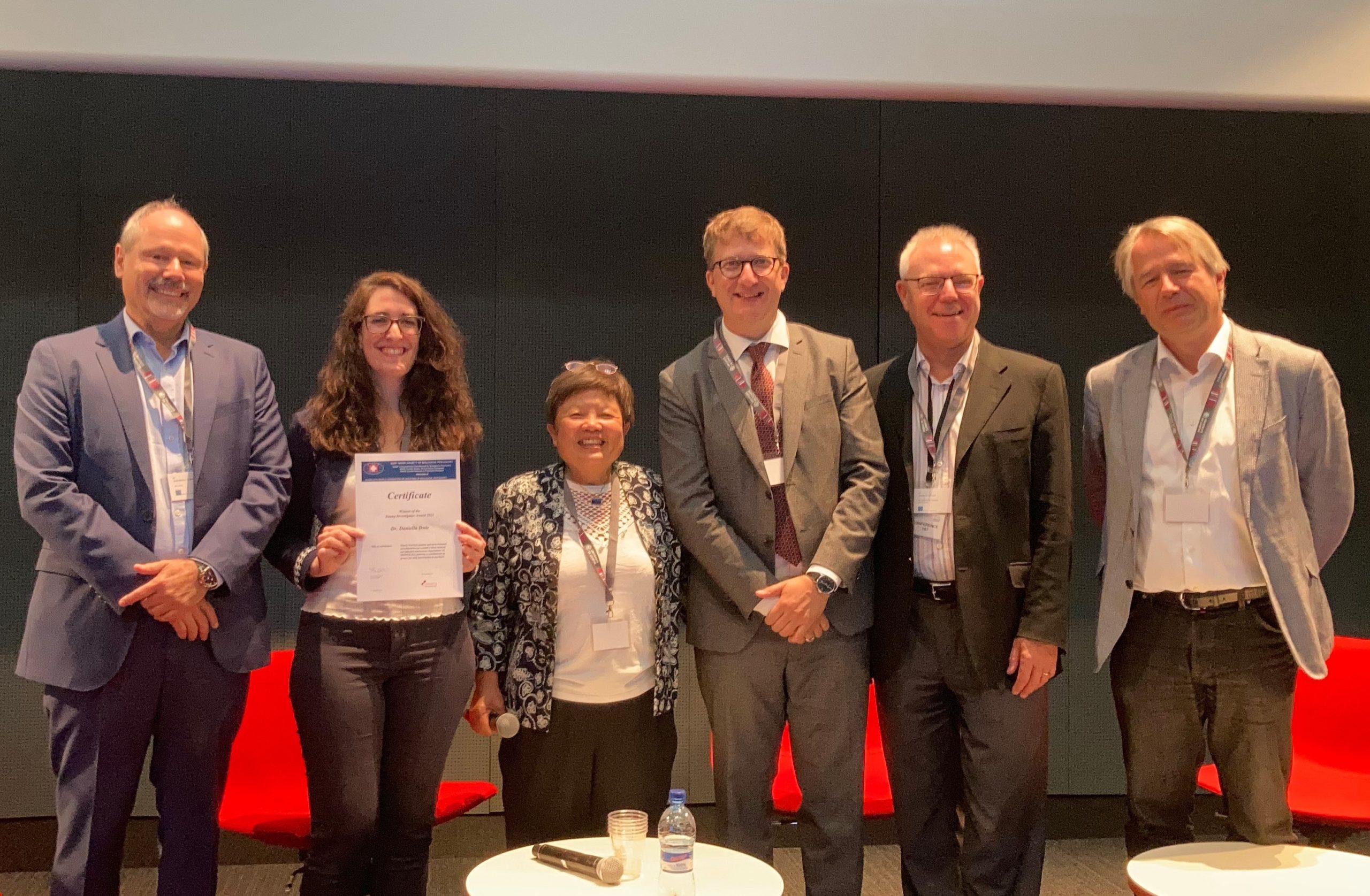 Daniella Dwir's study awarded prize